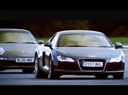 porsche cayman s top gear audi r8 vs porsche 911 top gear