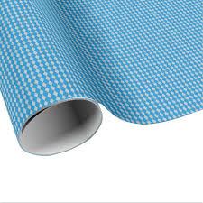 mini harlequin diamonds blue silver wrapping paper zazzle