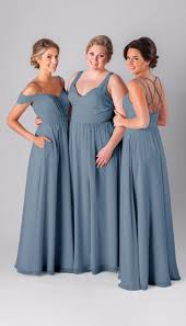 slate blue bridesmaid dresses kennedy blue mackenzie bridesmaid dress