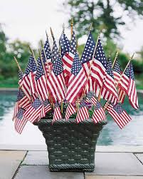 Memorial Day American Flag Creative Ways To Display The American Flag Martha Stewart