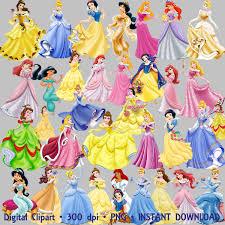 princess disney psd clipart 46