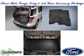 lexus floor mats oem 2016 ford explorer all weather floor mat 3rd row seat u0026 cargo area