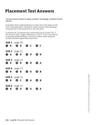 mcgraw hill geometry diagnostic test answer key 28 images
