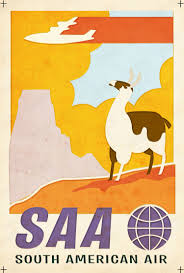 wall sticker picture more detailed picture about saa south saa south american air wonders travel agency ad vintage retro decorative poster diy wall stickers posters
