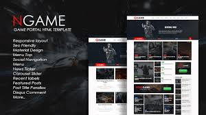 templates blogger material design newsgame responsive blogger template