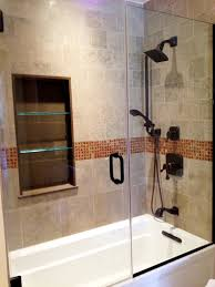 Bathroom Border Ideas by Pictures Of Small Bathroom Remodels With Stylish Mosaic Tile