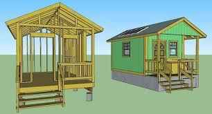dennis ringler 12x16 grid house simple solar homesteading quixote cottage plans