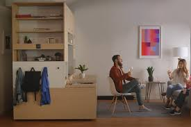 furniture transforms spaces in tiny apartments into bedrooms work