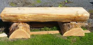 tables made from logs creation woods rainier oregon
