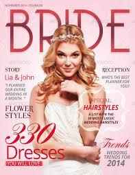 wedding magazine template 20 best magazine cover design templates