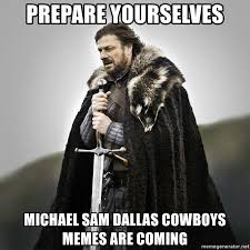 Michael Sam Memes - prepare yourselves michael sam dallas cowboys memes are coming
