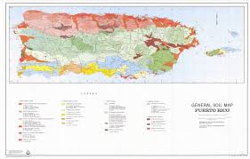 Map Of Puerto Rico The Soil Maps Of Latin America U0026 Caribbean Islands Display Maps