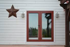 full view glass door recent work action security iron