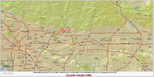 Henry Cowell State Park Map by Cfn California Fire News Cal Fire News Ca Anf Colbyfire Wui