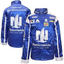 nascar fan online store men s dale earnhardt jr blue pit jacket nascar fan pinterest