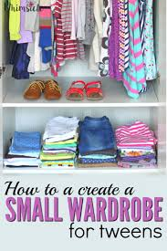 Organize Wardrobe by How To Create A Tween U0027s Small Wardrobe Whimsicle