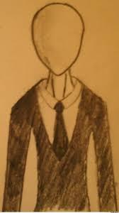 slenderman drawing by jeremy4366 meme center