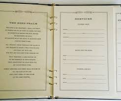 funeral sign in book durango leather finish memorial guest book funeral register book