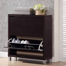 Modern Storage Cabinet Simms 2 Storage Modern Shoe Cabinet Multiple Colors Walmart Com