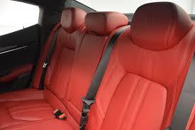 maserati ghibli red interior 2017 maserati ghibli s q4 stock m1684 for sale near greenwich