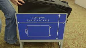 United Bag Check Fee When Carry On Luggage Isn U0027t Carry On Size Consumer Reports