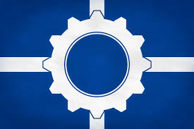 Union Of The Flag Flag Of The Union Of European Technates By Gtd Orion On Deviantart