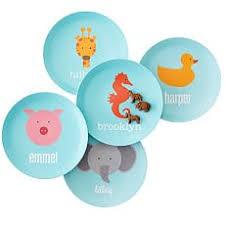 personalized baby plate personalized baby plates bibs and graham