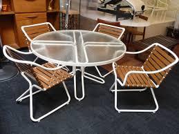 Mid Century Modern Outdoor Furniture Outstanding Set Of Maurizio Tempestini Designed Patio Furniture