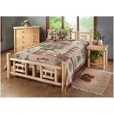 Bedroom Furniture Made From Logs Log Bed Frame For Sale Furniture Midwest Near Me Kits Bedroom Sets