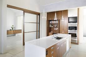 sliding kitchen doors interior trendy kitchens that unleash the of sliding barn doors