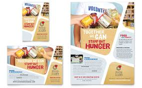 graphic design templates for flyers food bank volunteer flyer ad template word publisher