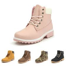 womens boots work s work boots winter leather boot lace up outdoor