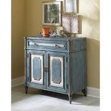 hammary hidden treasures accent cabinet in antique blue pics with