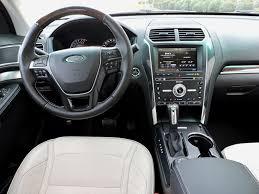 Ford Explorer Interior - 2016 ford explorer vs 2016 honda pilot autoguide com news