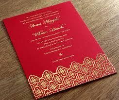 asian wedding invitation indian letterpress wedding invitation gallery avani