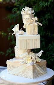 wedding cake gift boxes food photos