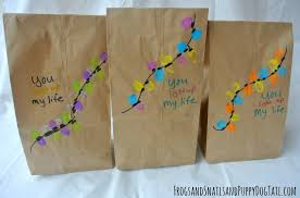 christmas paper bags diy christmas gift bags fspdt