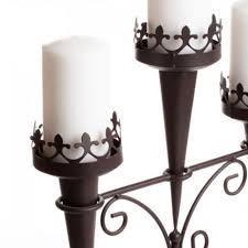 medieval triple candle stand 14114 triple candle stand