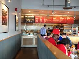 view from inside picture of chipotle mexican grill east hanover