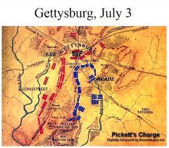 Gettysburg Map Battle Of Gettysburg Seminary Ridge