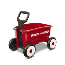 Radio Flyer Ready Ride Scooter Radio Flyer My 1st 2 In 1 Wagon Red Toys