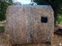 hay bale blind john pinterest hay bales bow hunting and