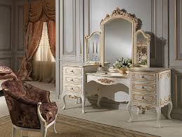 vanity dressing table with mirror luxury dressing table with carving design high quality furniture