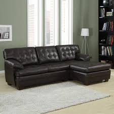 Sectional Sofa With Chaise Lounge by L Shaped Dark Grey Leather Sectional With Chaise Lounge And Rustic