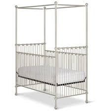 white canopy crib wayfair