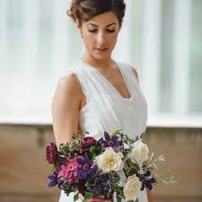 Wedding Flower Arrangements Purple Wedding Flower Arrangements