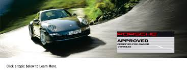 porsche 911 certified pre owned porsche approved cpo vehicles