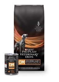 om overweight management dog food pro plan veterinary diets