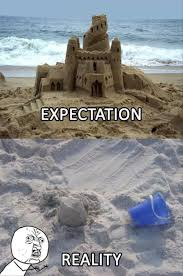Expectation Vs Reality Meme - expectation vs reality memes qlty ctrl because the internet