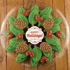 Decorating Christmas Wreath Cookies by 2614 Best Christmas Cookies Images On Pinterest Decorated